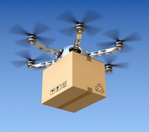 Paketlieferung mit Drohnen