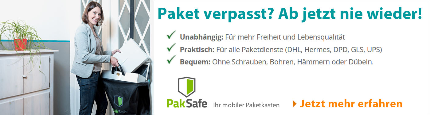 PakSafe - Ihr mobiler Paketkasten