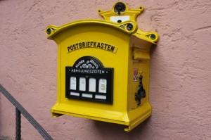 alter Postkasten